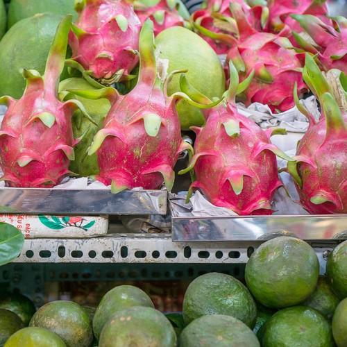 Magasin vente de pitaya