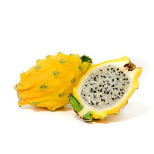 Pitaya jaune à chair blanche