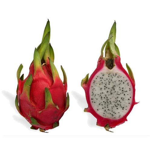 Pitaya vert, rose et rouge à chair blanche